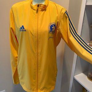 NWOT authentic Boston marathon jacket